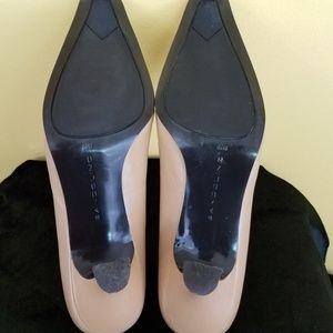 Bandolino Shoes - Bandolino Blush Taupe/Tan Square- toe Pumps: 6.5